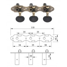 Machine Heads for classic guitar
