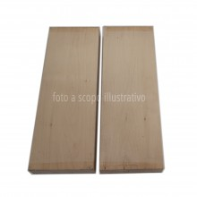 Basswood two pieces body