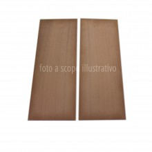 Cherrywood back, I quality, 2 bookmatched pieces