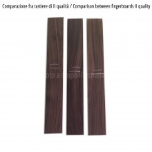 Comparison between Indian Rosewood fingerboards, II quality