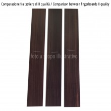 Comparison between fingerboards, I quality