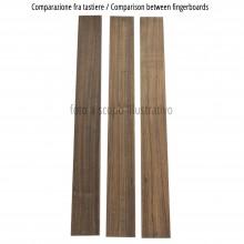 Comparison between Bocote fingerboards