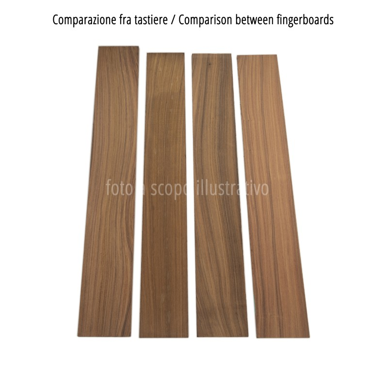 Comparison between Santos fingerboards, cm 70x10